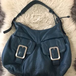 Blue Cole Haan purse